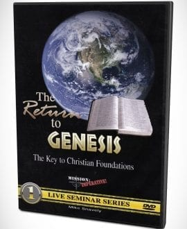 The Return To Genesis DVD