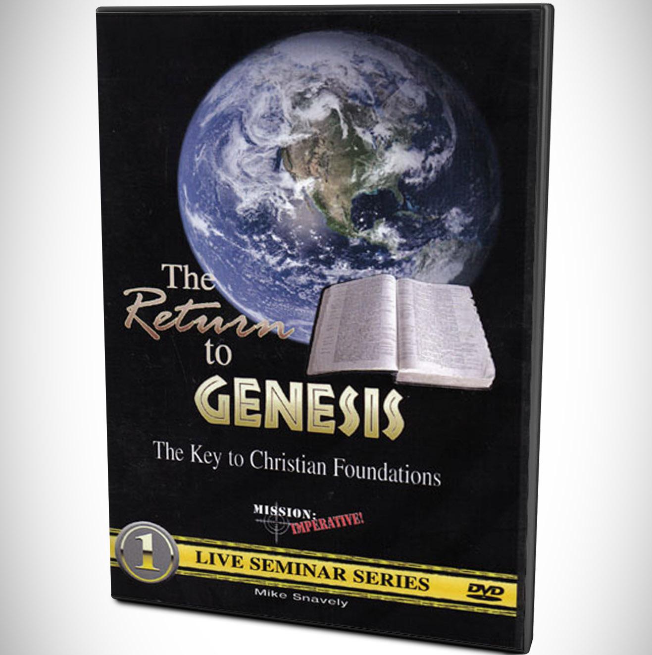 The Return To Genesis DVD