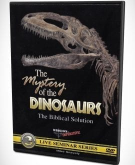The Mystery of the Dinosaurs DVD