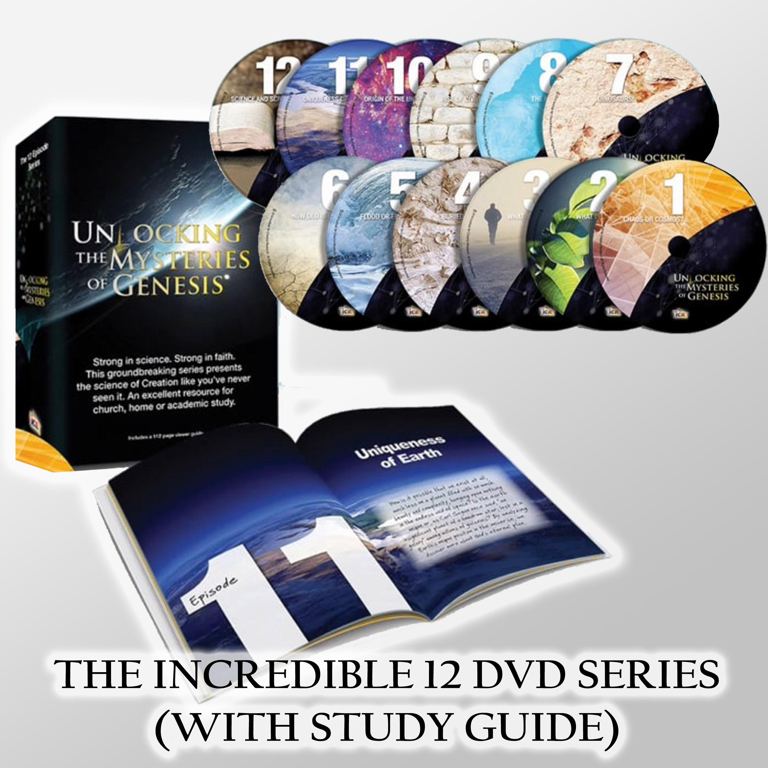 unlocking the mysteries of genesis 12 dvd set by icr creation