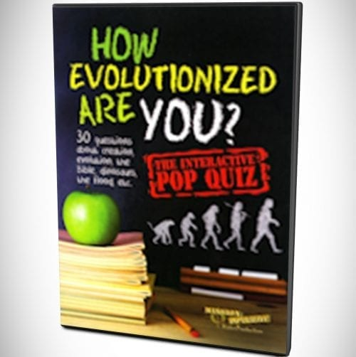 How Evolutionized Are You? DVD
