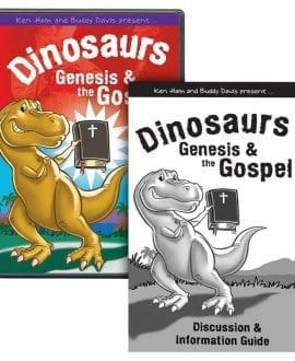 Dinosaurs, Genesis & the Gospel DVD
