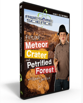 awesome science media episode 3 meteor crater petrified forest dvd