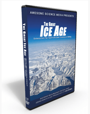 awesome science media great ice age michael oard dvd