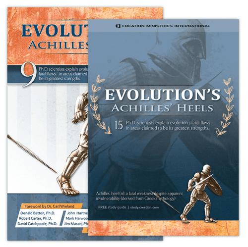 Evolution's Achilles' Heels Book and DVD Set