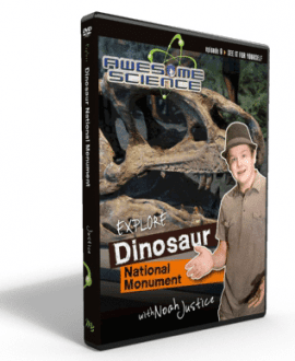 awesome science media episode 9 dinosaur national monument dvd