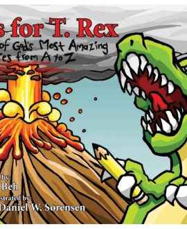 t is for t-rex terry beh childrens book