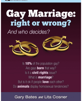 gay marriage right or wrong cmi bates cosner booklet