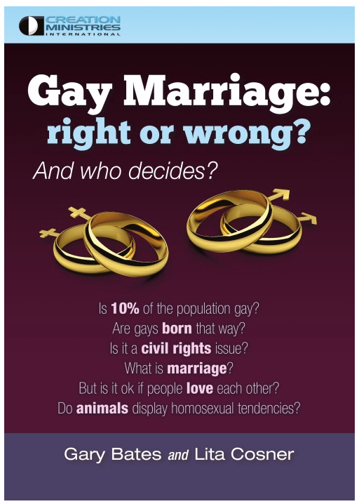Gay marriage is wrong pdf files
