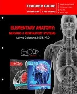 elementary anatomy teachers guide book lainna callentine nervous respiratory system