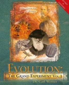 evolution the grand experiment carl werner book