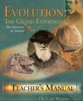 evolution the grand experiment teachers manual carl werner book