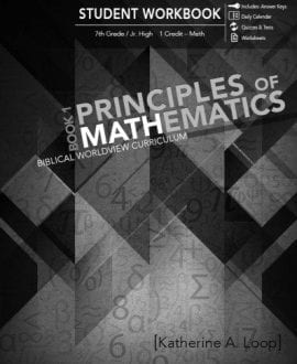 principles-of-math-1-student-workbook katherine loop