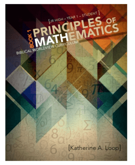 princlples of mathematics textbook 1 katherine loop