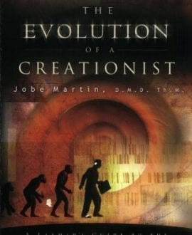 the evolution of a creationist jobe martin book cover