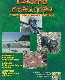 DVD-Darwins-Evolution a very unnatural selection jogn mackay creation research