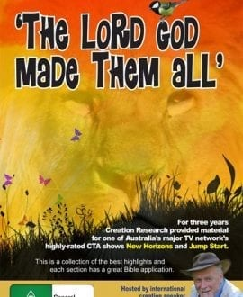 DVD-THE-LORD-GOD-MADE-THE-ALL creation research john mackay