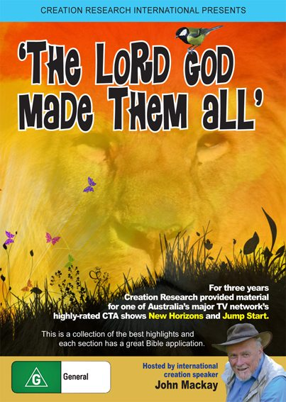 The Lord God Made Them All DVD