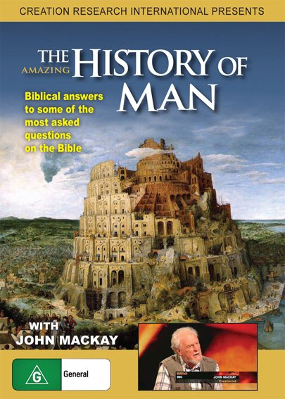 The Amazing History of Man DVD