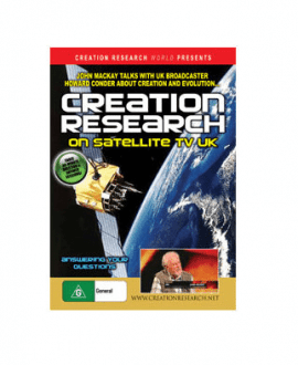 creation research on satellite tv uk dvd john mackay creation research