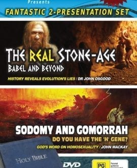 dvd the real stone age sodomy and gomorrah john mackay creation research
