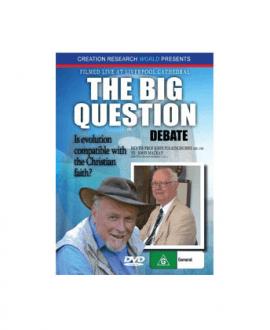 the big question debate john mackay dvd creation research