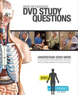 body of evidence study guide book aig david menton