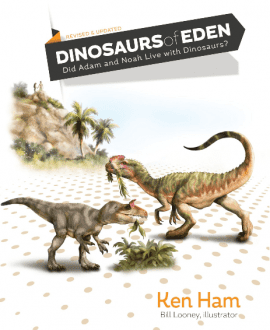 dinosaurs of eden book mb ken ham bill looney