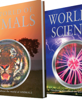 The world of animals and science book set master books