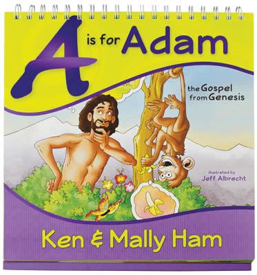 a is for adam book ken ham aig