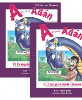 a is for adam book spanish version with teachers guide