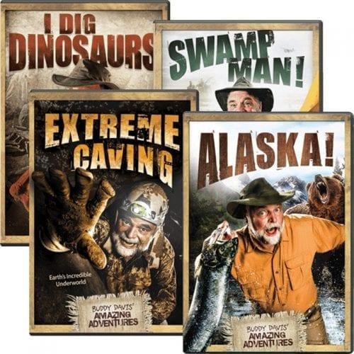 buddy david 4 dvd adventures set aig
