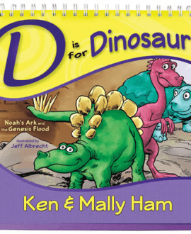 d is for dinosaur updated book ken ham aig