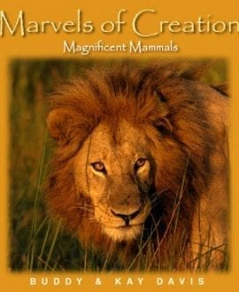 marvels of creation magnificent mammals book buddy davis master books