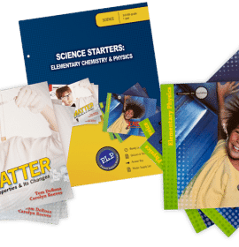 science starters elementary chemistry and physics mb curriculum pack