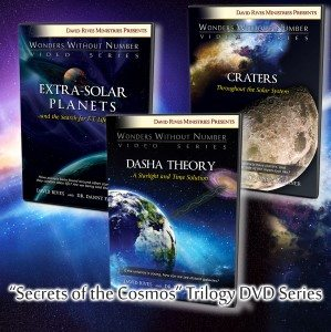 2016 learn about the Cosmos. Secrets of the Cosmos DVD Trilogy!
