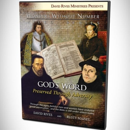 GOD'S WORD Preserved Through Adversity DVD