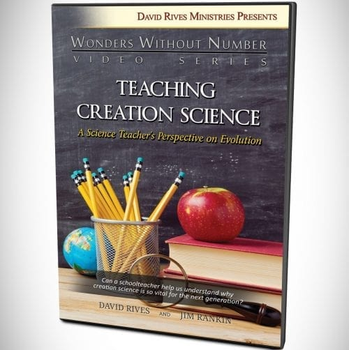 Teaching Creation Science - A Science Teacher's Perspective on Evolution DVD