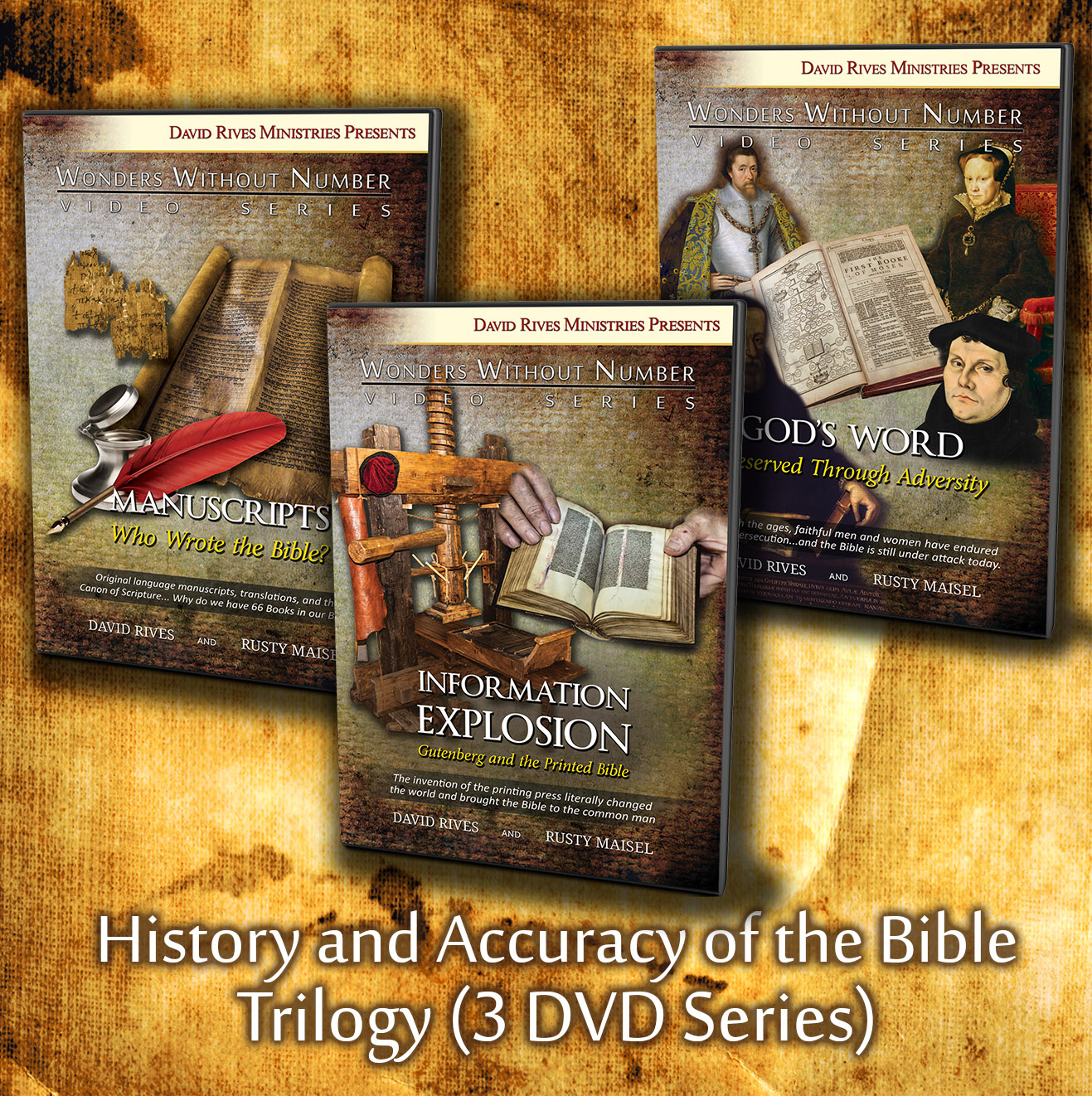 History and Accuracy of the Bible Trilogy DVD Series
