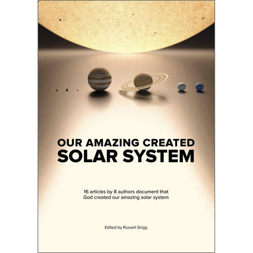 our amazing created solar system book creation ministries
