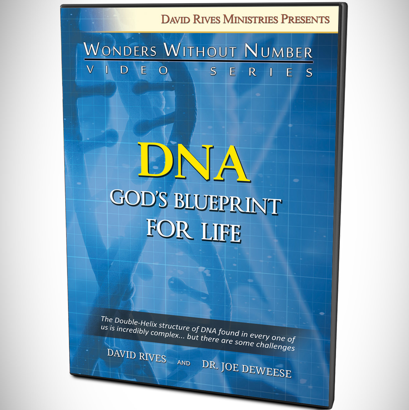 Dna gods blueprint for life dvd dr joe deweese drm dna gods blueprint for life malvernweather Choice Image