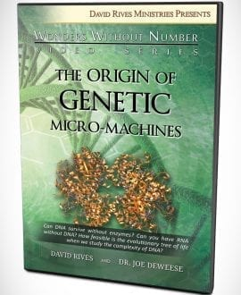 The Origin of Genetic Micro-Machines DVD