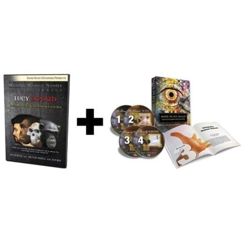 The True Origin of Human Life DVD Combo