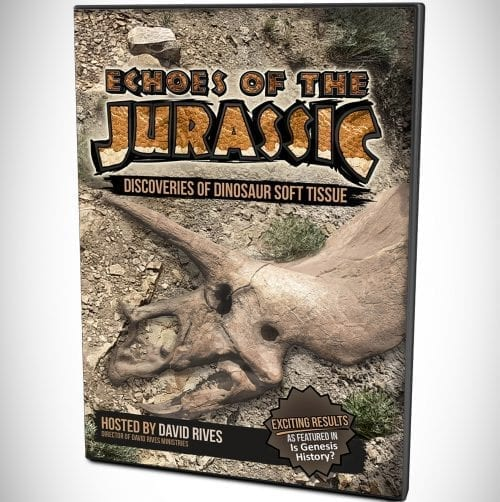 Echoes of the Jurassic DVD Documentary Discoveries of Dinosaur Soft Tissue