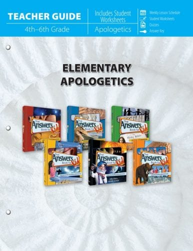 Elementary Apologetics Teacher Guide
