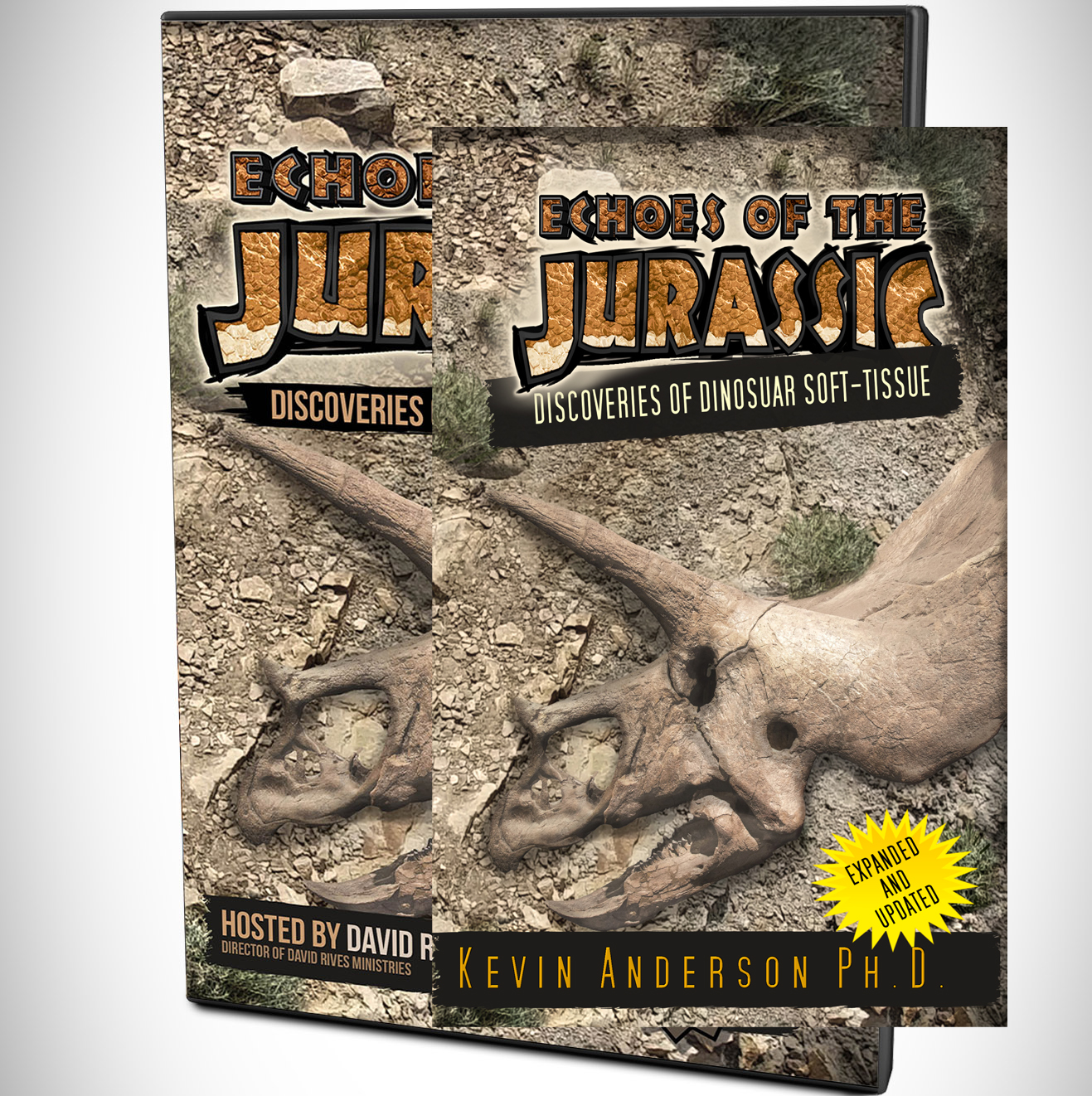 Echoes Of The Jurassic - Discoveries of Soft Tissue Book and DVD Pack