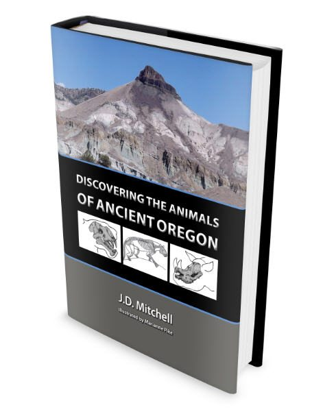 Discovering the Animals of Ancient Oregon Book