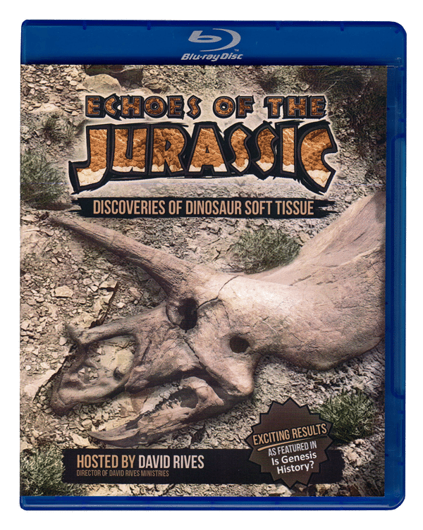Echoes of the Jurassic Blu-ray DVD Version