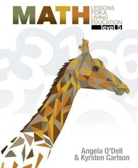 Math Lessons for a Living Education: Level 5 Book Cover