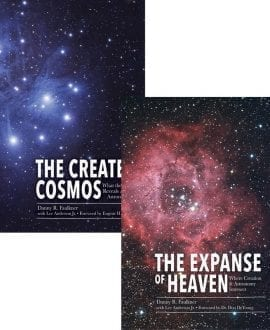 The Created Cosmos and The Expanse of Heaven 2 Book Set